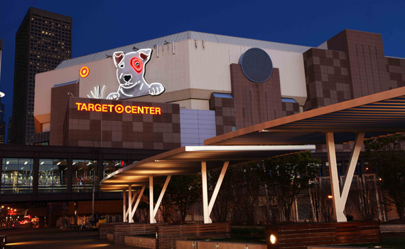 Target Center Events